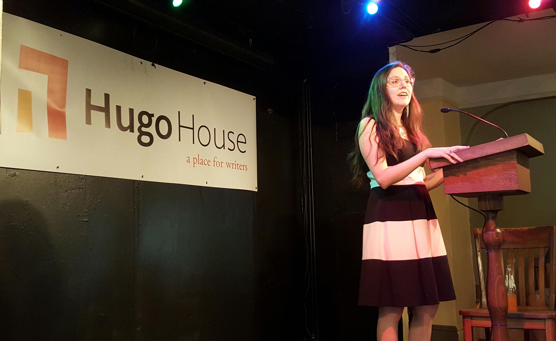 Elissa Washuta at Hugo House, July 1, 2005
