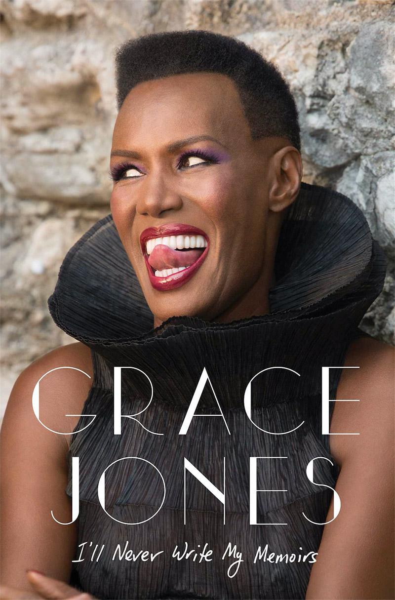 Grace Jones graces the cover of her new memoir